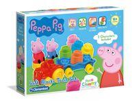 Zestaw kloców Clemmy Peppa Pig