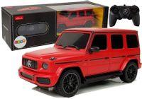 Auto Mercedes Amg G63 Zdalnie Sterowany R/c 1:24 Czerwony 2.4 G