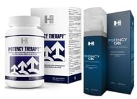 Potency Gel + Potency Therapy = Zestaw Na Erekcje