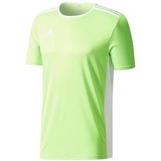 Koszulka dla dzieci adidas Entrada 18 Jersey JUNIOR limonkowa CE9758/CE9755