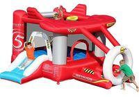 Dmuchany samolot - dmuchaniec ogrodowy dla dzieci