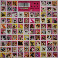 Naklejki 16x16 The Cat Koty 92szt