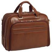 Męska torba na laptopa springfield skóra brązowa