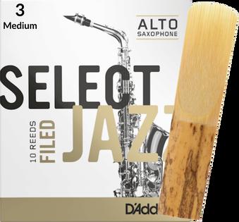 Stroik saksofon altowy 3M RICO Select Jazz FILED