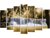 Obraz Wodospad 140x80 do salonu