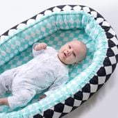 Dwustronny Kokon niemowlęcy Woodland zdjęcie 5