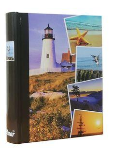 ALBUM, albumy na zdjęcia szyty 200 zdjęć 10x15 cm opis BAOBAB latarnia