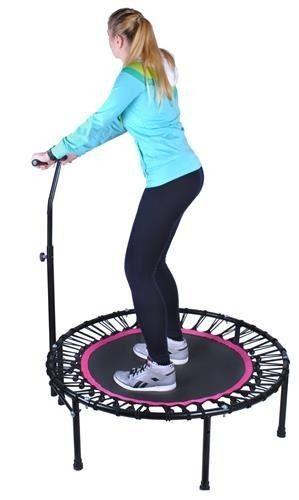 Trampolina z uchwytem do fitnessu zdjęcie 5