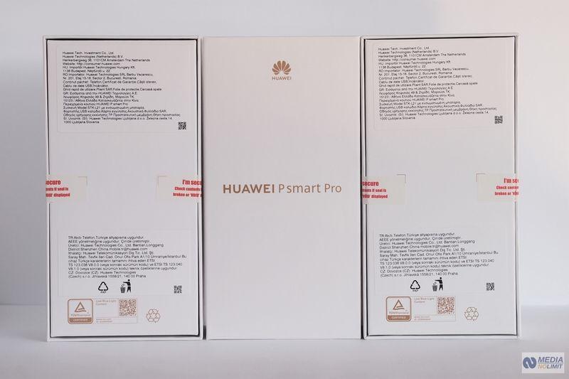 Huawei P smart Pro DS Opal Polska Dystrybucja FV VAT 23% Gw 24M zdjęcie 5