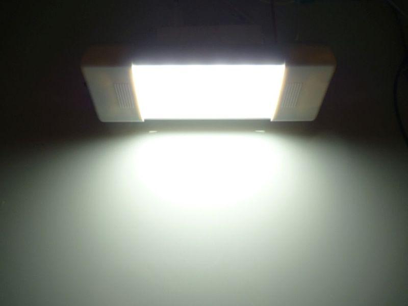 mocna Lampa LED wnętrza 17 cm z włącznik 18 SMD 12v 24v do Kabin itp na Arena.pl