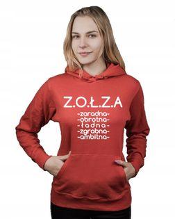 Bluza damska kangur ZOŁZA CECHY L