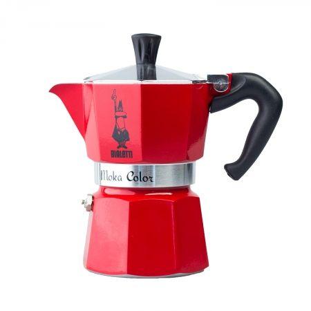 Kawiarka 3 tz 150 ml czerwona MOKA BIALETTI zdjęcie 1
