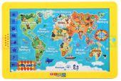 Tablet Mapa Świata - Język Polski
