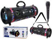 GŁOŚNIK Bluetooth TUBA Radio AUX SD CH-M17 z mikrofonem karaoke G207ZF