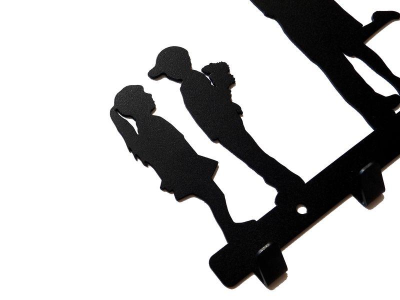 Metalowy wieszak ścienny na ubrania klucze - LIVE zdjęcie 7
