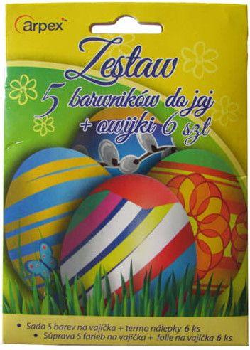 Arpex Zestaw 5 barwników do jaj 286066 na Arena.pl