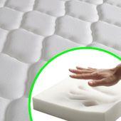 Łóżko Z Materacem Memory, Białe, Metalowe, 140X200 Cm zdjęcie 4