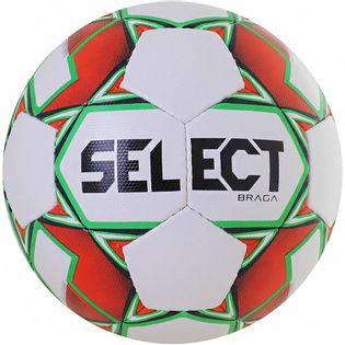 Piłka nożna Select Braga biało-zielono-pomarańczowa 0906