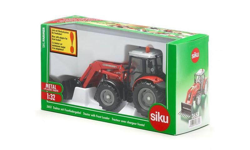Siku Traktor z Przednią Ładowarką zdjęcie 2