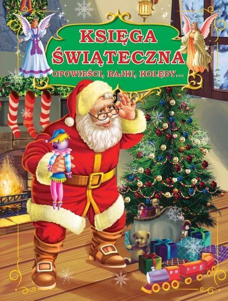 Księga świąteczna bajki dla dziecka święta mikołaj zdjęcie 1