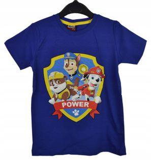 Koszulka Psi Patrol chaber, bawełna roz.122