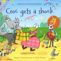 Usborne Phonics Readers - Croc gets a shock