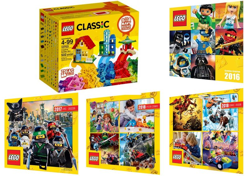 Lego Classic 10703 Zestaw Kreatywny 4 Katalogi Arenapl