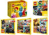 LEGO CLASSIC 10703 ZESTAW KREATYWNY + 4 KATALOGI