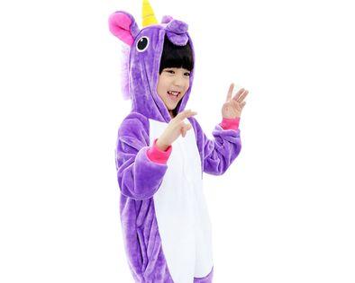 Kigu Onesie piżama dla dzieci fioletowy pegaz L