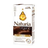 Naturia Organic pielęgnująca farba do włosów bez amoniaku i PPD 321 Kasztanowy