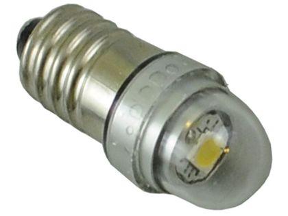 mocna żarówka LED E10 gwint wkręcany  cree UHP do latarki 3v