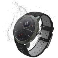 Withings NOKIA Activite Steel HR Sport - smartwatch z pomiarem pulsu (czarny)