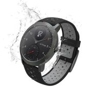 Withings NOKIA Activite Steel HR Sport - smartwatch z pomiarem pulsu (czarny)