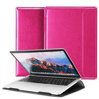 Dux Ducis HEFI 2w1 torba etui podstawka na MacBook 13`` różowy