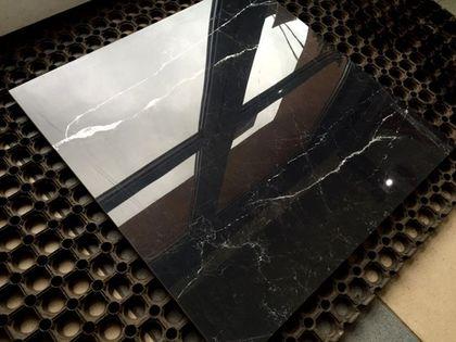 Gres polerowany MAGIC BLACK 60x60 Czarny marmur