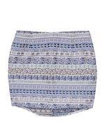 TXM Spódnica damska klasyczna, bez podszewki casual S niebieski