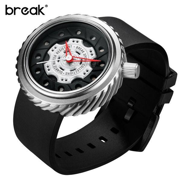 Nowoczesny, męski zegarek Break w eleganckim pudełku zdjęcie 8