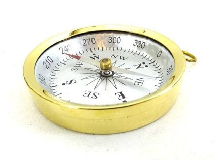 Mosiężny kompas C35