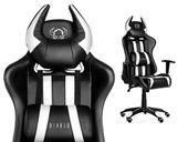 BIUROWY obrotowy fotel gamingowy do biura DIABLO X-ONE HORN ORYGINALNY