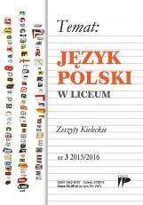 Język Polski w Liceum nr. 3 2015/2016 praca zbiorowa