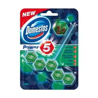DOMESTOS Power 5 PINE 55g - zawieszka toaletowa