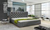Łóżko Tapicerowane BOSTON 160x200+ Stelaż