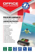 Folia do laminowania 65x95mm 2x125mikr 100szt
