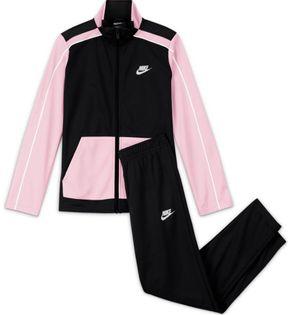 Dres dla dzieci Nike NSW Futura Poly Cuff TS czarno-różowy DH9661 011 L