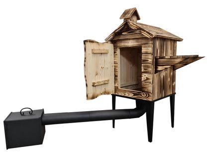 Wędzarnia drewniana z drzwiczkami DUŻA PROMOCJA! + GRATISY