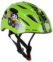 Kask rowerowy na rolki/deskorolkę Nils Extreme MTW01 Led rozmiar S (48-52 cm) zielony