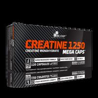 Olimp Creatine 1250mg Mega Caps 120 kapsułek Kreatyna Siła + GRATIS!!!