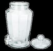 Słój o pojemności 7,5L z kranikiem na lemoniadę zdjęcie 2