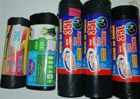 Zestaw worków na śmieci 70 szt. LDPE