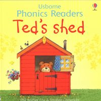 Usborne Phonics Readers - Ted's shed